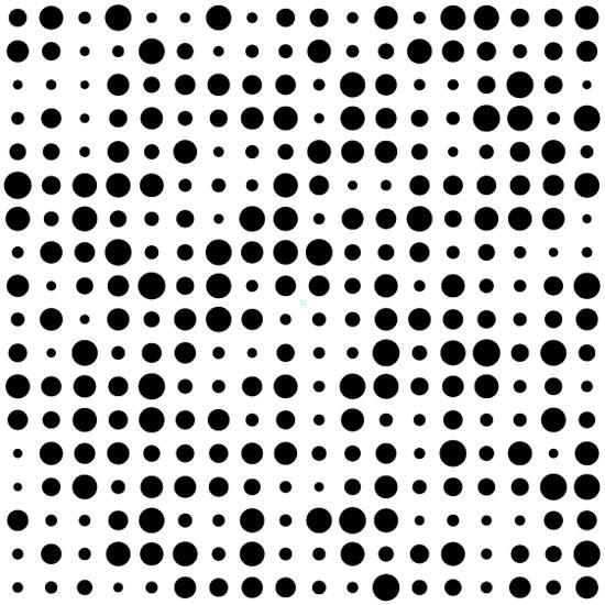 Black-dots-on-white-background-Pattern