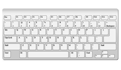 iMac-Keyboard-Vector