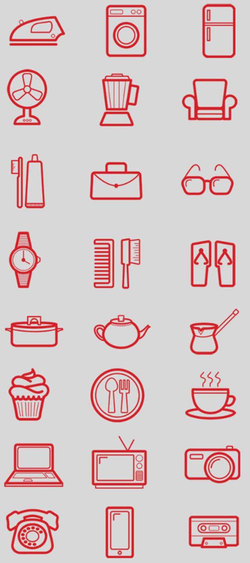24-Pictograms-Set-Icon