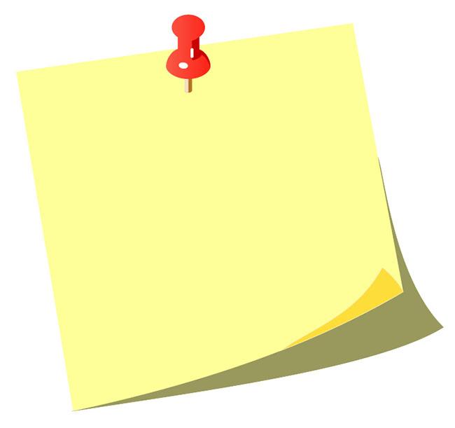 Note-paper-vector-illustration