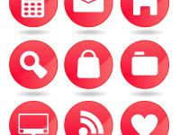 Red-web-icons