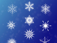 10-Vector-Snowflakes-EPS-and-Brush