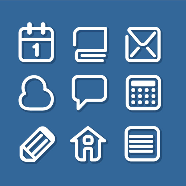 9-Office-icon-set