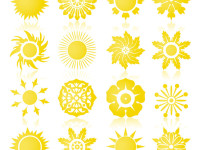 16-Sun-Symbols-or-Icons-Collection-Vector-Set
