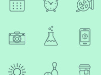 21-Line-Icons-Free