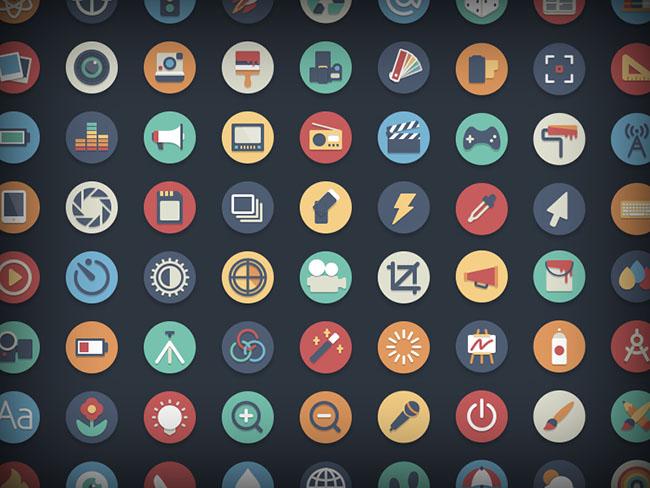 384-Free-Beautiful-Flat-Vector-Icons