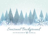 Winter-Seasonal-Background-Free-Vector