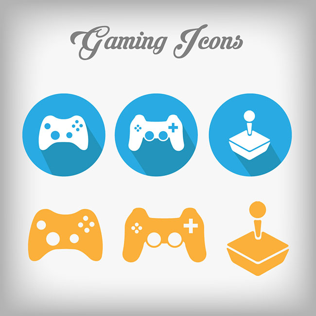 Gaming-Icons-Vector-Designs