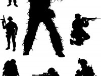 Army-Silhouettes