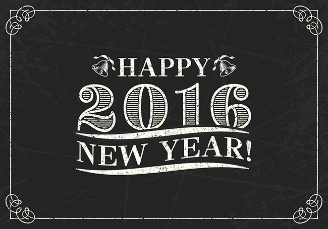 Retro-Happy-2016-Lettering