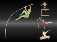 Olympic-hurdling-gymnastics-pole-vault
