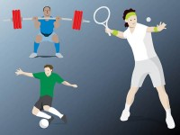 Olympic-tennis-football-lifting-weights
