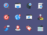 SEO-Flat-Icons